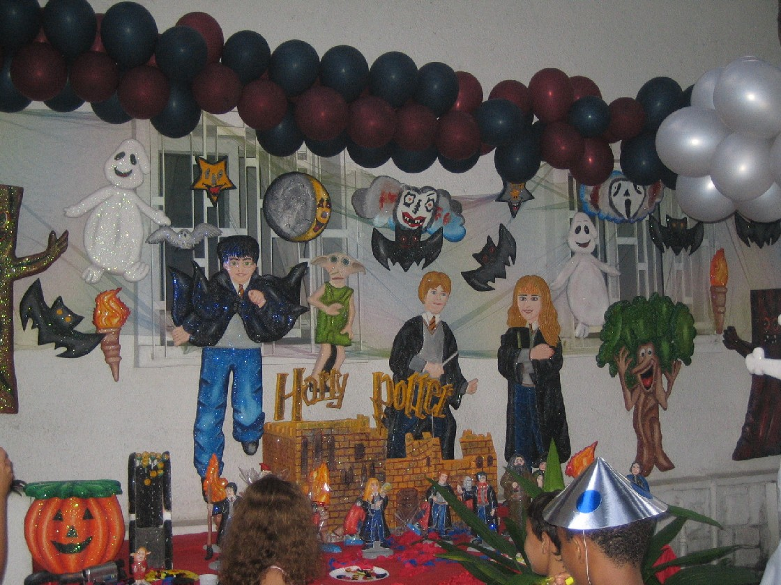 deco harry potter anniversaire. Black Bedroom Furniture Sets. Home Design Ideas